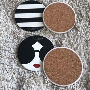 Alice + Olivia Coasters